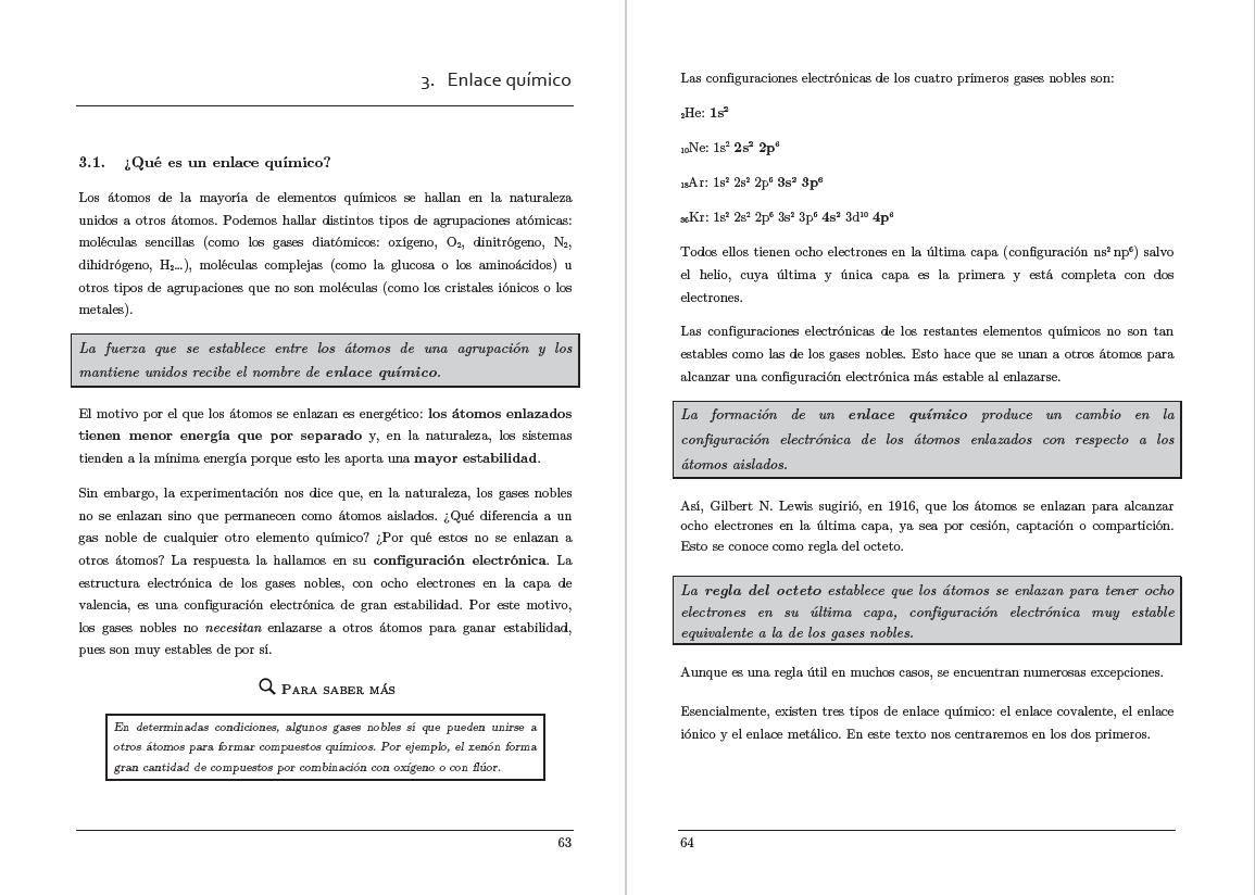 Libro mayores de 25 de Andalucía Química tema 3